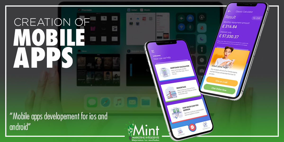 mobile apps development for ios and android